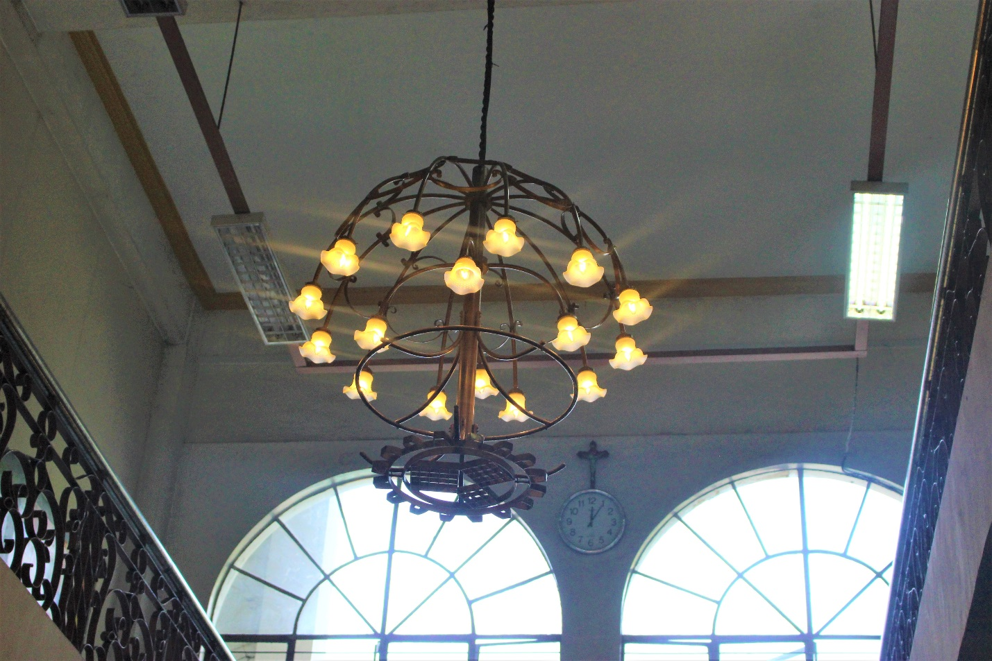 Shining Once More like TUP herself: the Chandeliers at the COS-CLA Lobby